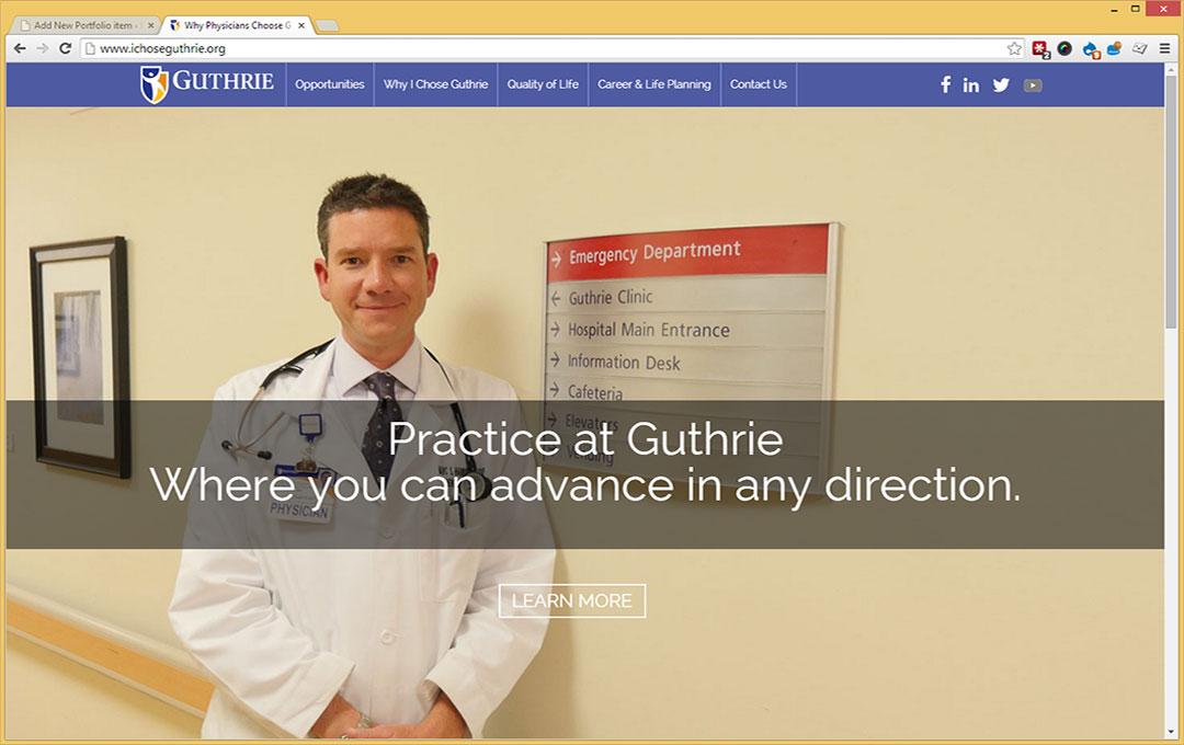 Guthrie Physician Portal